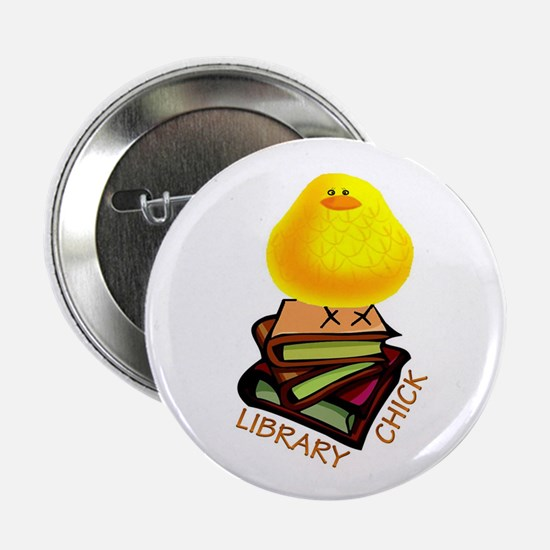 "Cute Library 2.25"" Button"