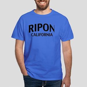 Ripon California Dark T-Shirt