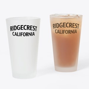 Ridgecrest California Drinking Glass