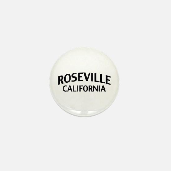 Roseville California Mini Button