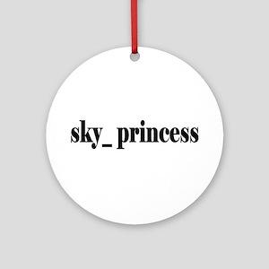 Sky Princess Ornament (Round)