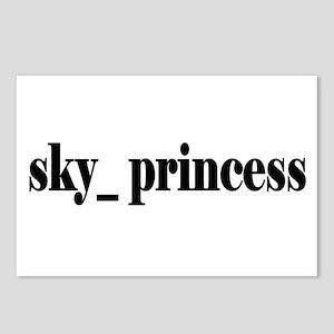 Sky Princess Postcards (Package of 8)
