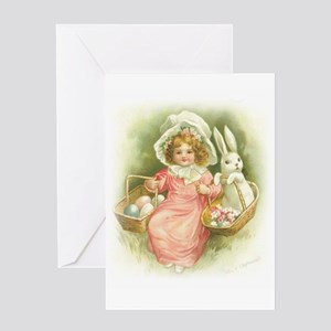 """""""Cute Easter Bunny"""" Greeting Card"""