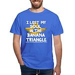Dark T-Shirt featuring Banana Triangle cast