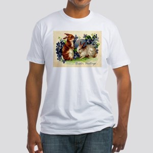 """""""Easter Bunnies"""" Fitted T-Shirt"""
