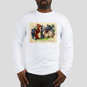 """""""Easter Bunnies"""" Long Sleeve T-Shirt"""