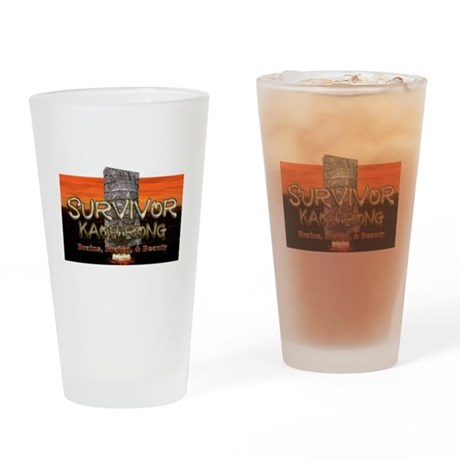 Survivor Kaoh Rong Drinking Glass