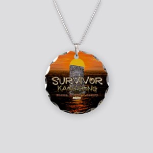 Survivor Kaoh Rong Necklace Circle Charm