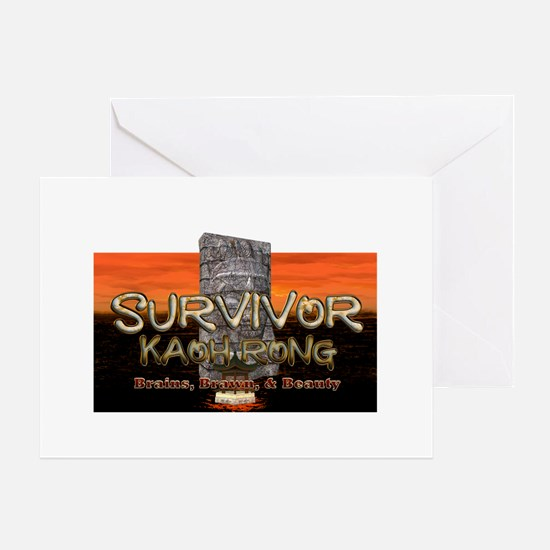 Survivor Kaoh Rong Greeting Card