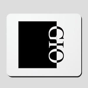GIO Typography Mousepad