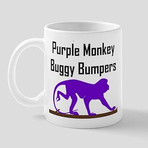 Purple Monkey Buggy Bumpers Mug
