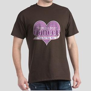 Personalize World's Best Dancer Dark T-Shirt