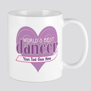Personalize World's Best Dancer Mug