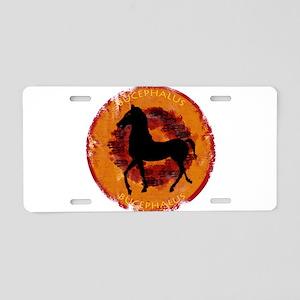 Bucephalus Aluminum License Plate