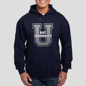 Rat UNIVERSITY Hoodie (dark)