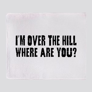 Over the Hill Throw Blanket
