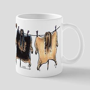 Line Dry Afghans Mug