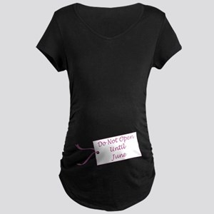 Due Date June Maternity Dark T-Shirt