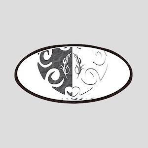 Yin Yang Heart Patches