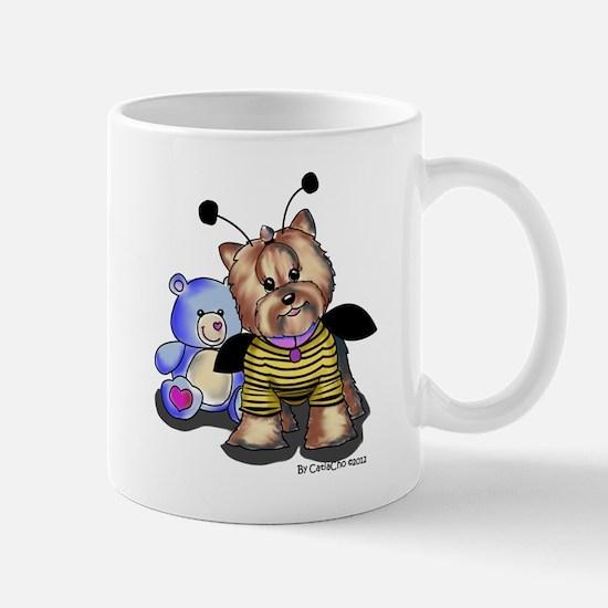 My Yorkie, my love bug Mug