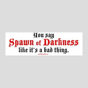Spawn of Darkness - 42x14 Wall Peel