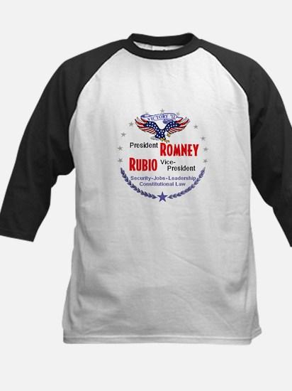 Romney Rubio Kids Baseball Jersey