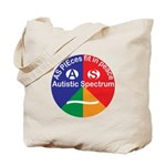 Autistic Spectrum Tote Bag