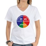 Autistic Spectrum Women's V-Neck T-Shirt