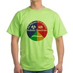 Autistic Spectrum Green T-Shirt
