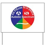 Autistic Spectrum Yard Sign