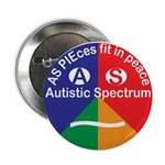 "Autistic Spectrum 2.25"" Button"