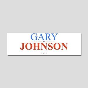 Gary Johnson 2012 Car Magnet 10 x 3