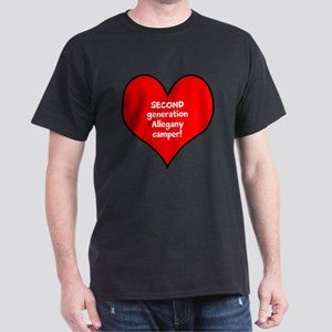 Personalized Allegany Generat Dark T-Shirt