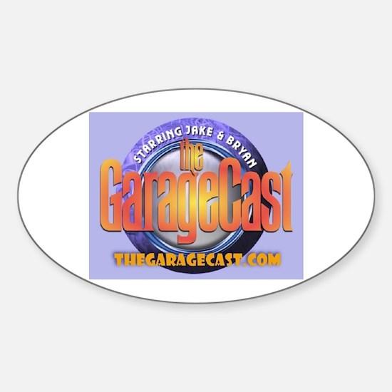 Cute Podcast Sticker (Oval 10 pk)