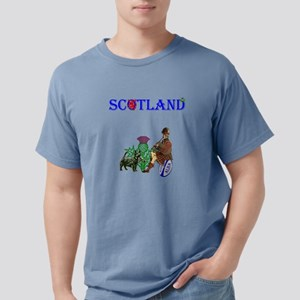 Scottish Rugby Mens Comfort Colors Shirt