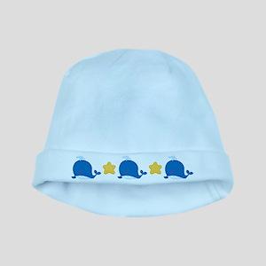 Cute Whale Ocean baby hat