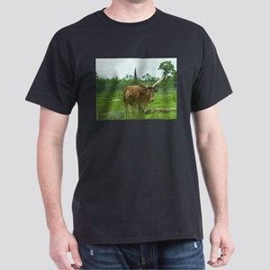 Ankole Cattle (Watusi) Dark T-Shirt