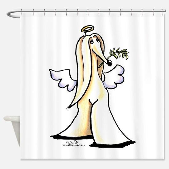 Afghan Angel Shower Curtain