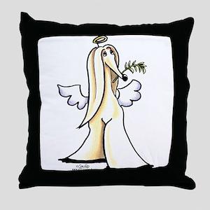 Afghan Angel Throw Pillow