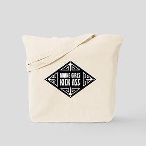 Maine Girls Kick Ass Tote Bag