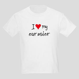 I LOVE MY Eurasier Kids Light T-Shirt