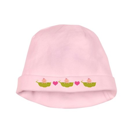 Baby Girl Pea Pod Boat baby hat