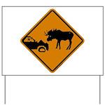 Moose Sign Newfoundland Yard Sign