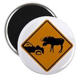 Moose Sign Newfoundland Magnet