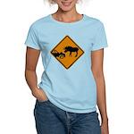 Moose Sign Newfoundland Women's Light T-Shirt