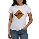 Moose Sign Newfoundland Women's T-Shirt