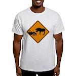 Moose Sign Newfoundland Light T-Shirt