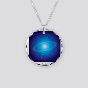 Pleiadian Alignment Necklace Circle Charm