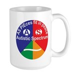 Autistic Spectrum Large Mug