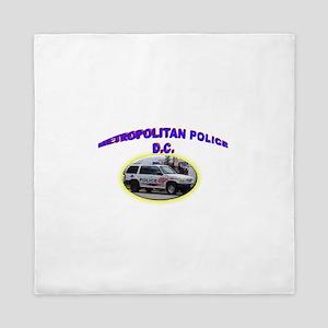 Washington D C Polic Queen Duvet